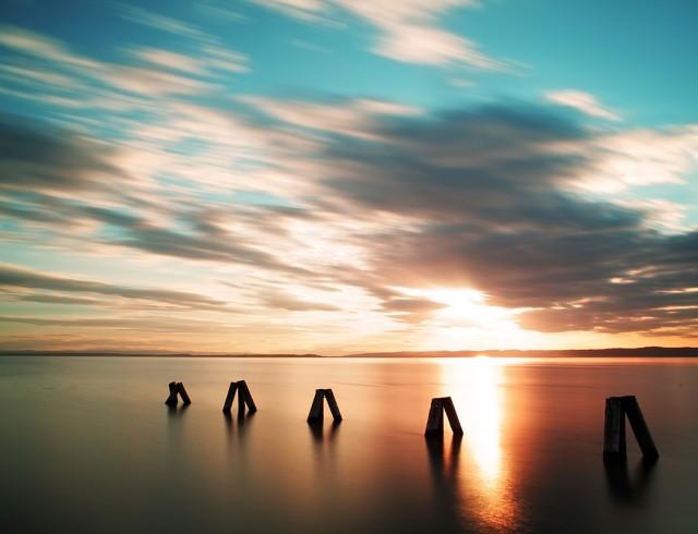 Atardecer veraniego que nos recuerda la importancia del Solsticio de Verano