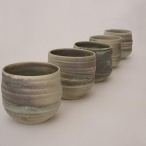 Vasos para el Té elaborado por Micazuki